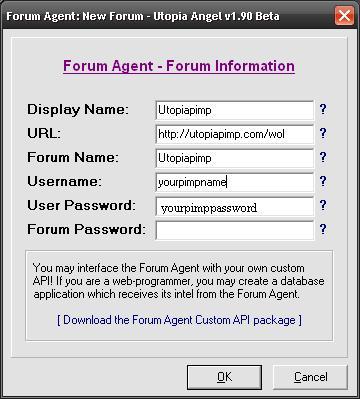 Forum Form